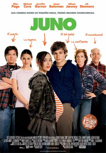 cartel español de JUNO